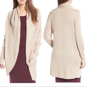Leith Sweaters - Leith Easy Circle Cardigan - M